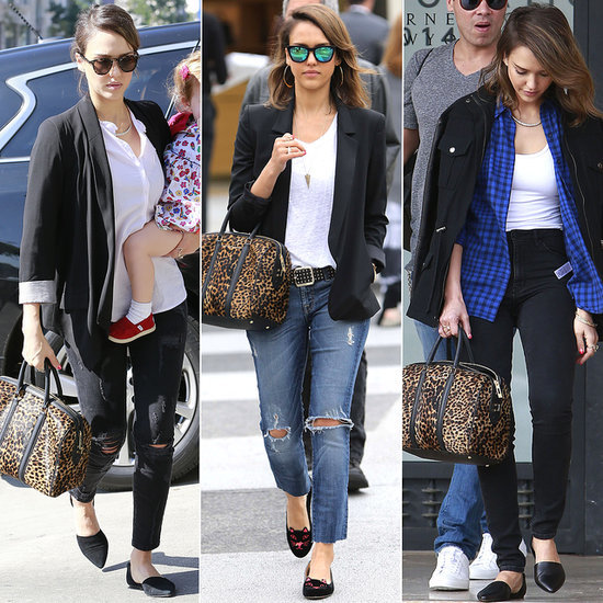 Jessica Alba Shows Us How Versatile Leopard Can Be