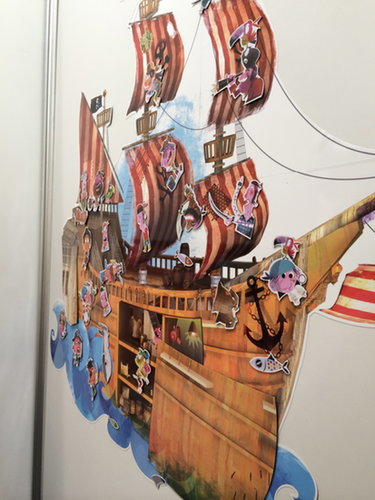 Janod Magni'stick Pirate Ship