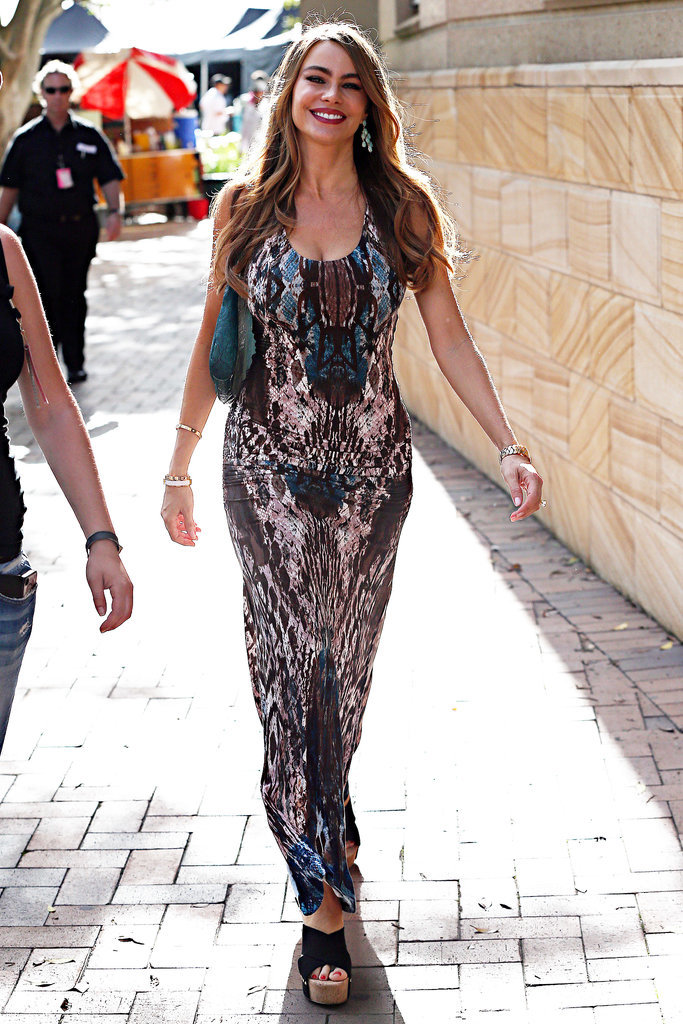 Sofia Vergara strolled near the Park Hyatt on Feb. 20.