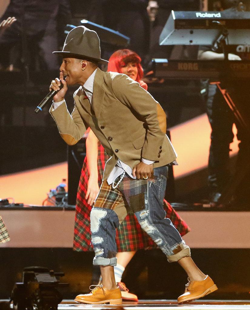Pharrell Wore That Hat, Again