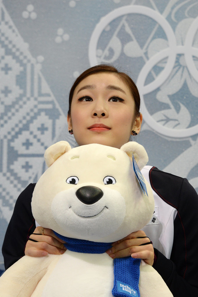 Yuna waited for her scores, but it wasn't enough.