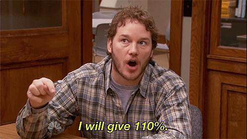 You recommitted to your crush when he became Andy on Parks and Rec.