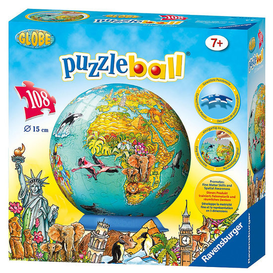 Globe-Themed Games, Decor, and Toys