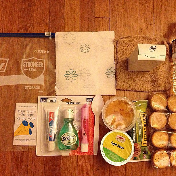 Prepare a Care Package For the Homeless