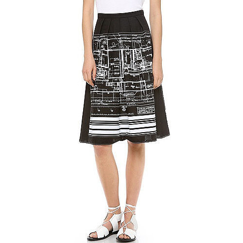 . . . And Melissa's been waiting for this skirt since September!