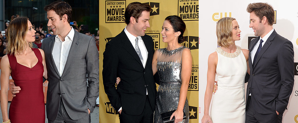 John Krasinski and Emily Blunt Really Have the Look of Love Down