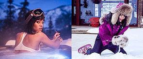 Rihanna Breaks Out Her Birthday Bikini . . . in the Snow