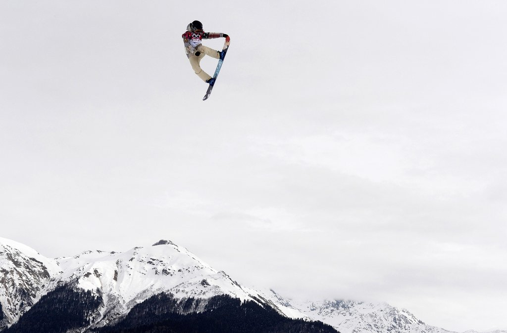 Jamie Anderson Catches Air