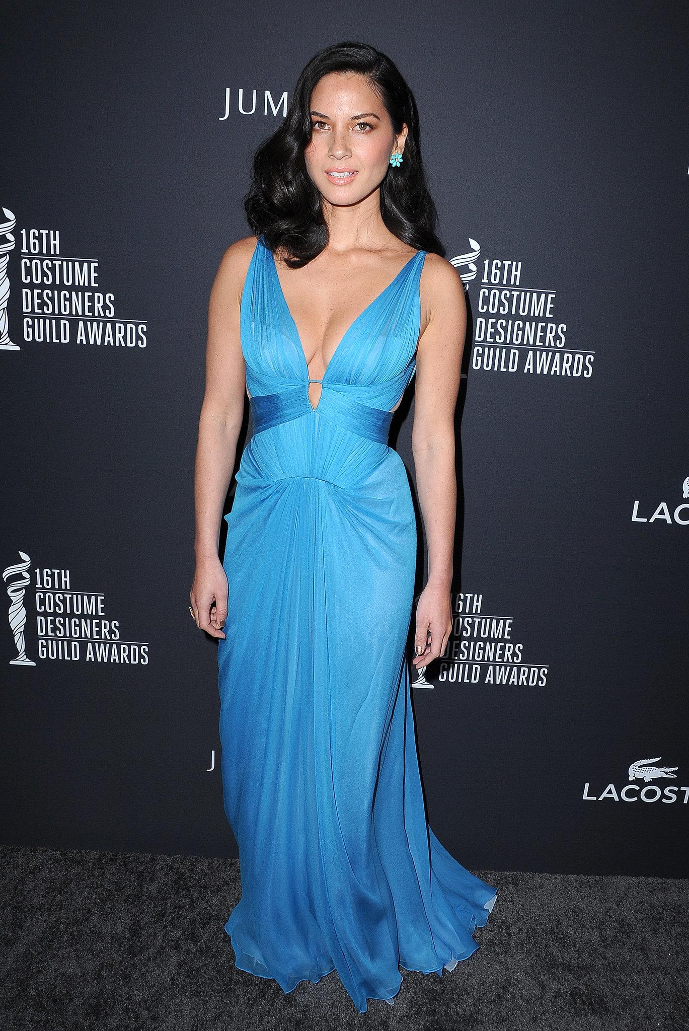 Olivia Munn at the Costume Designers Guild Awards