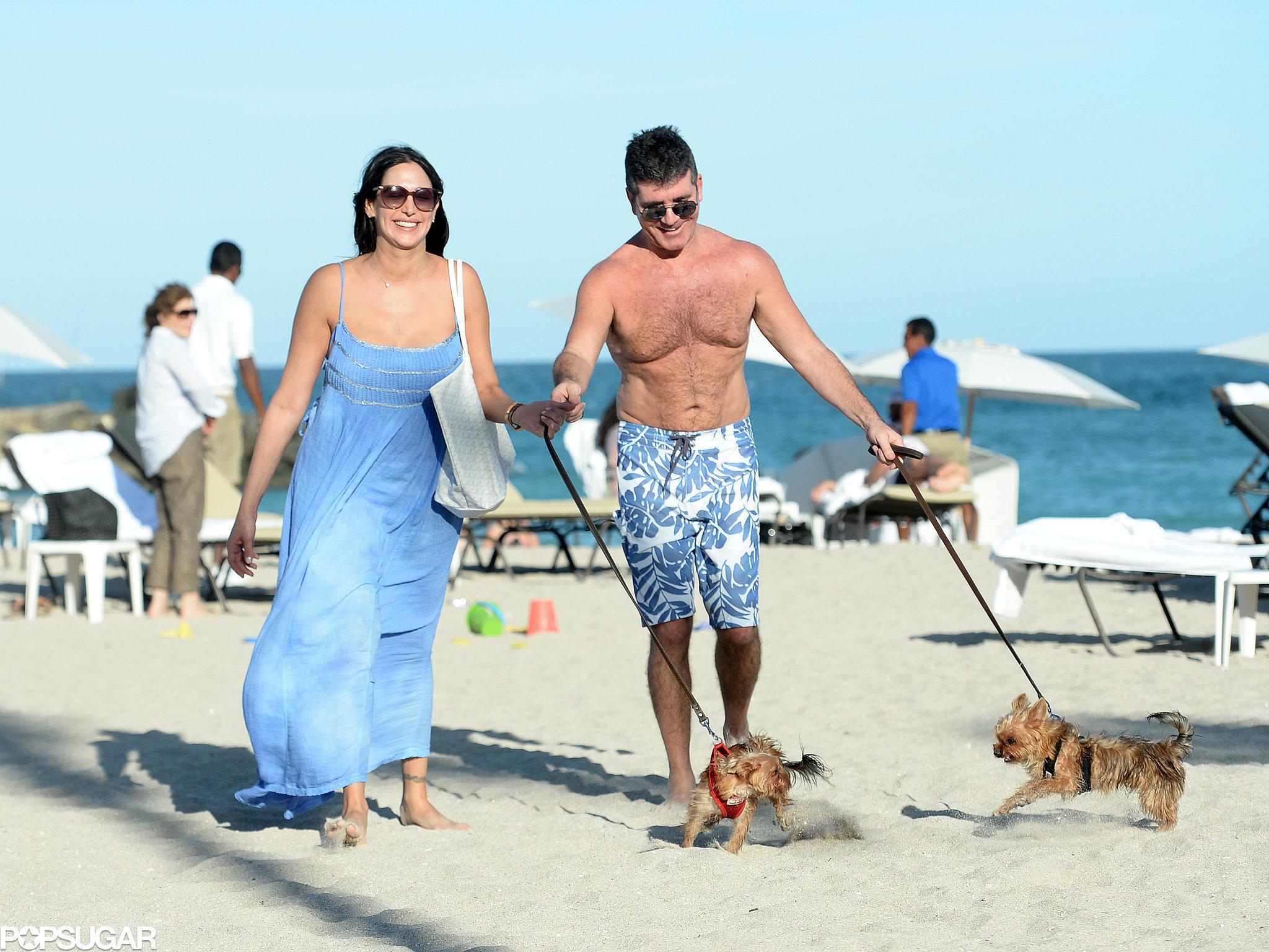Simon and Lauren Celebrate Their Son's Birth With a Beach Getaway