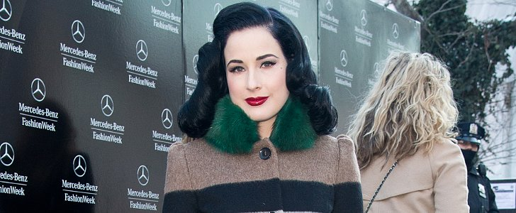 Hollywood at Home: Dita Von Teese Shows Off Her Antique-Filled Bedroom
