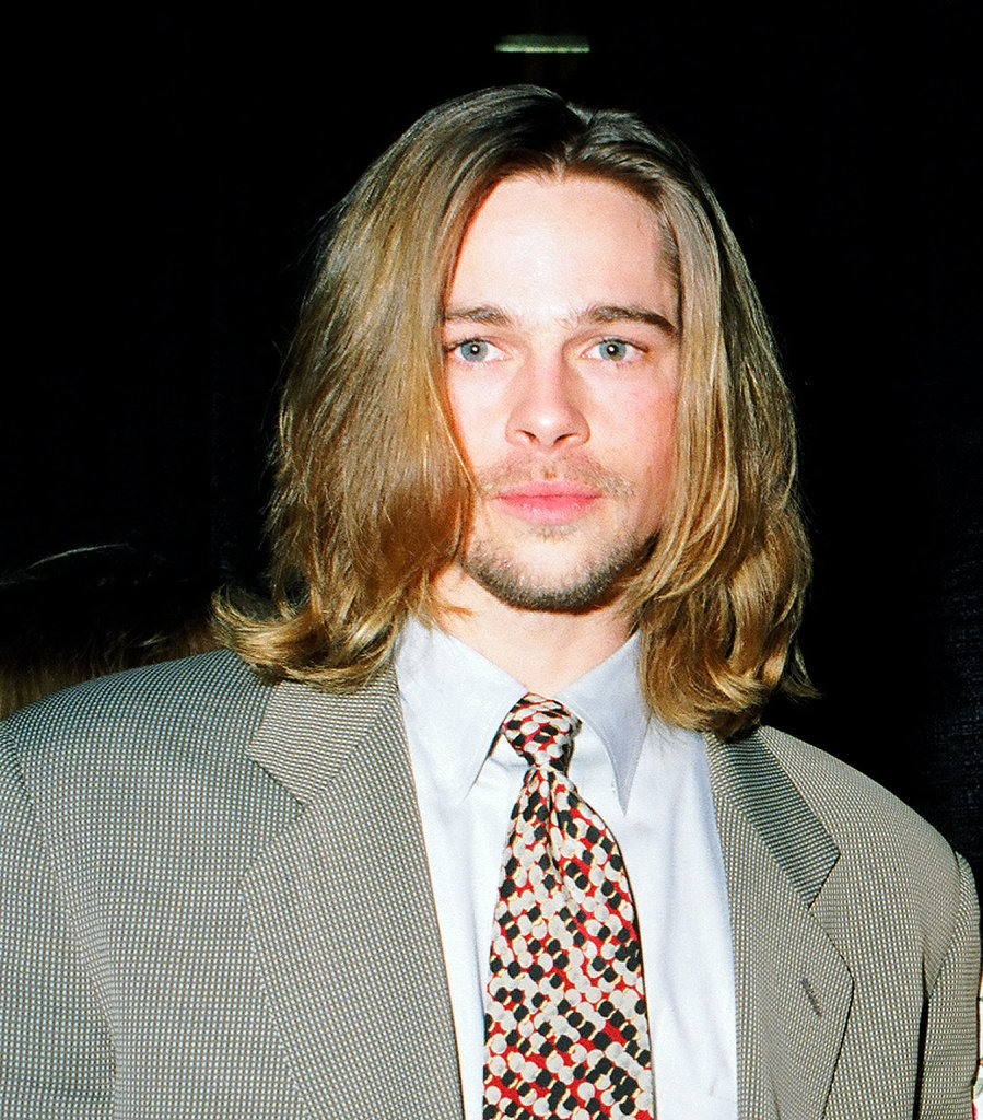 September 1993 The Man Lob Brad Pitt And His Hair