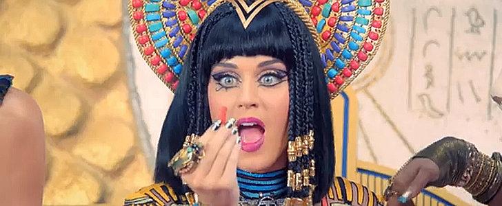 Cleopatra Katy Dines on Flamin' Hot Cheetos