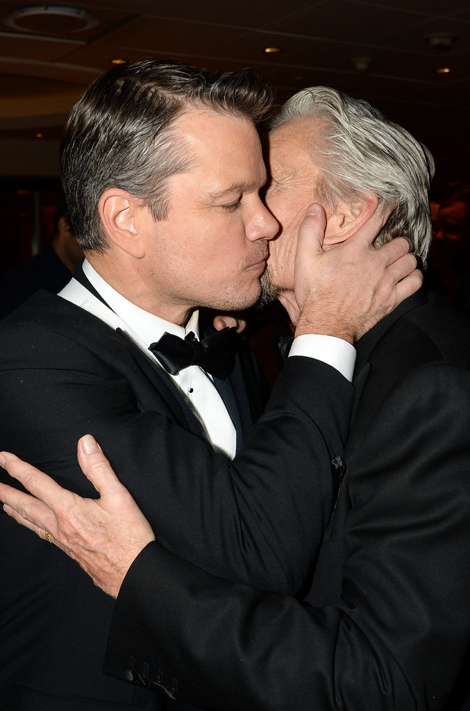 And a Cute Kiss After the Golden Globes