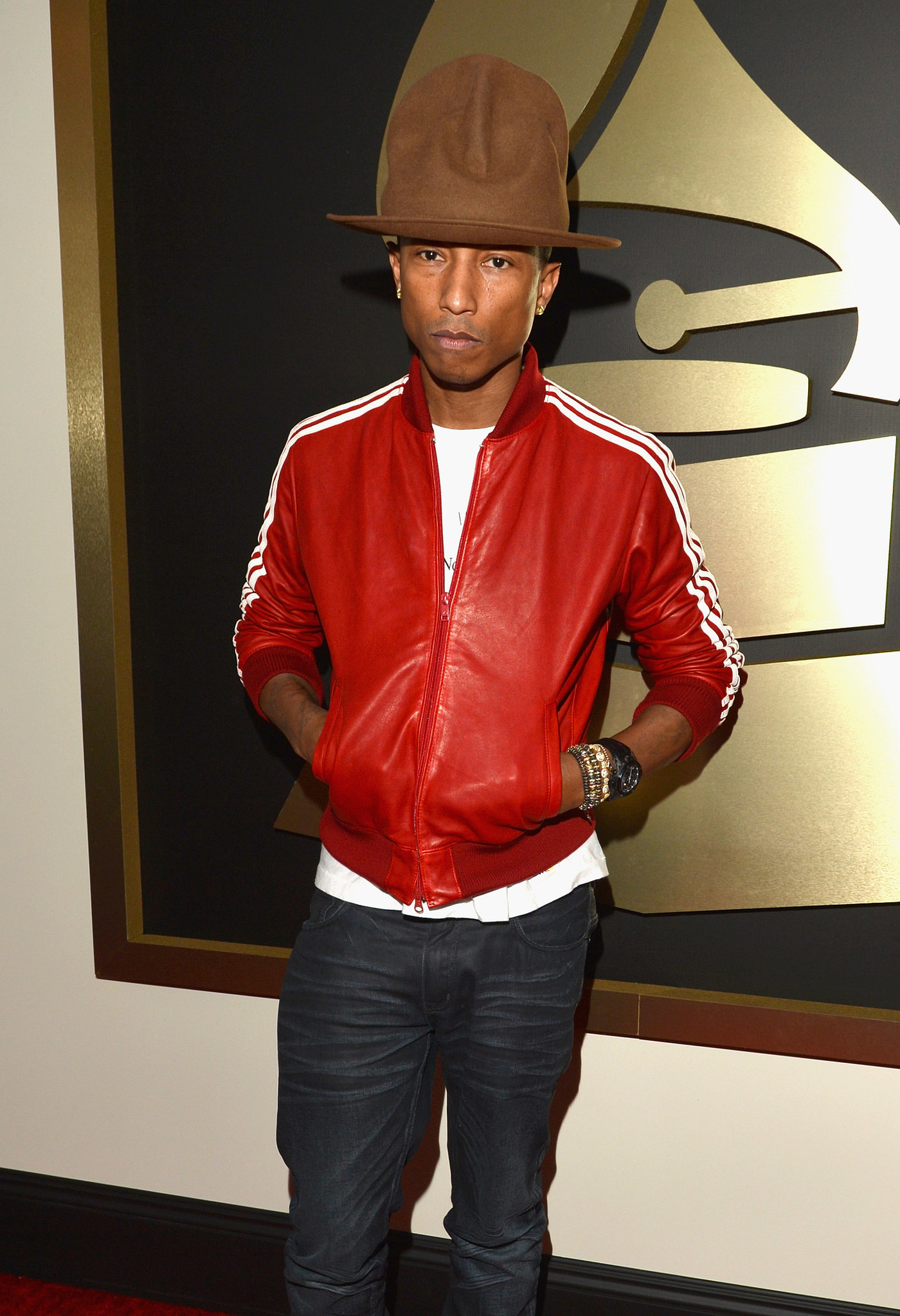 Pharrell Hat Costume Pharrell And His Hat First