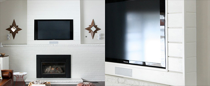 A Designer-Worthy DIY to Camouflage Your TV