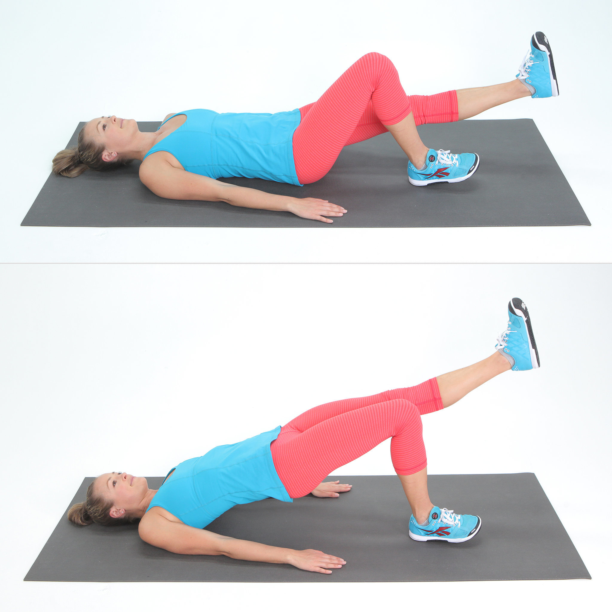 Exercise 5: Single-Leg Bridge Kicks