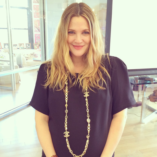 Drew Barrymore Relies on Street Style For Color Inspiration