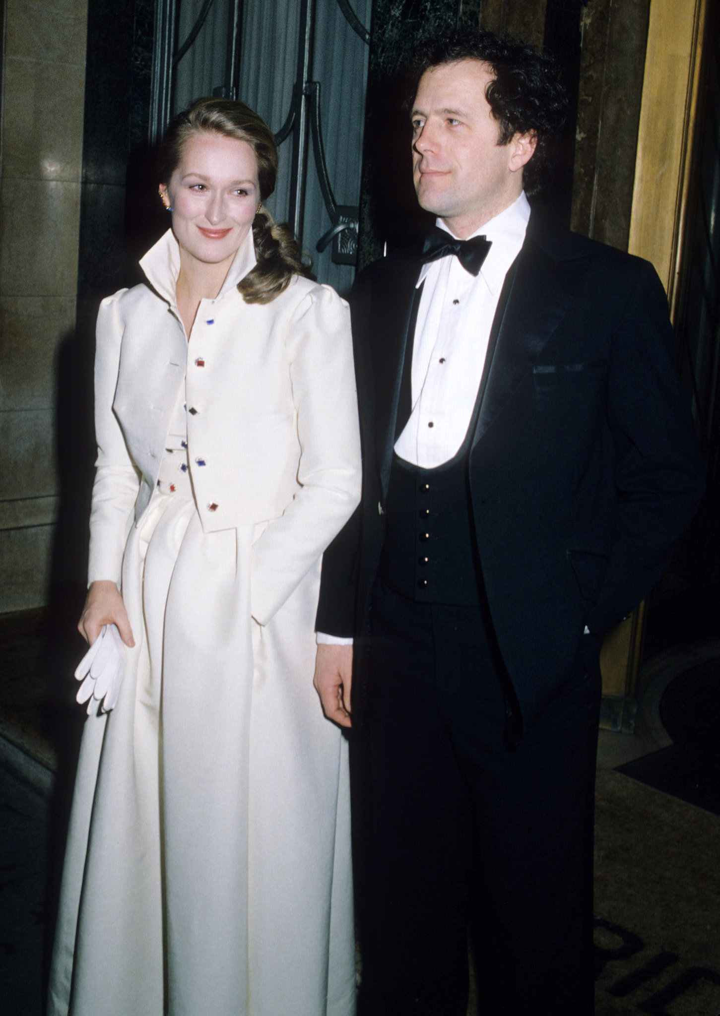 Two years after tying the knot, Meryl and Don made a glamorous appearance in London.