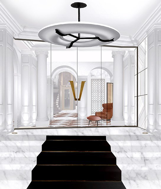 hotel vernet 5 boutique hotels worthy of paris fashion. Black Bedroom Furniture Sets. Home Design Ideas