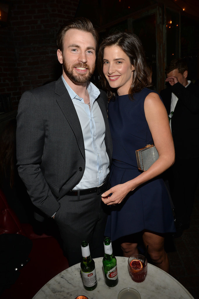 Chris Evans Girlfriend Pregnant Smulders and chris evans
