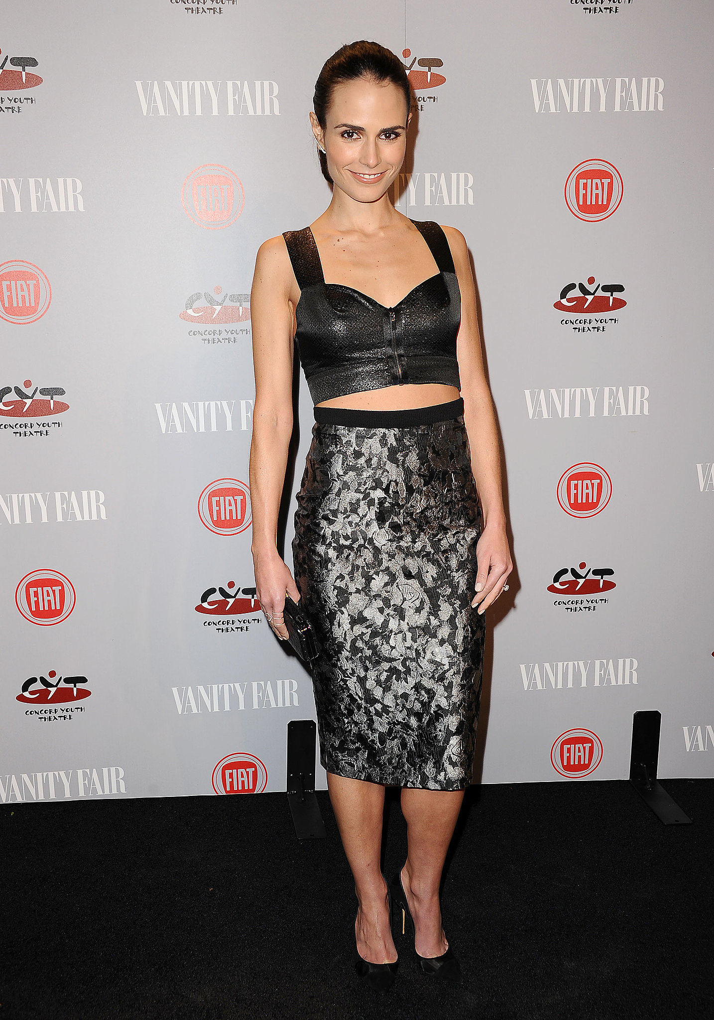 Jordana Brewster's look was fast and furious.