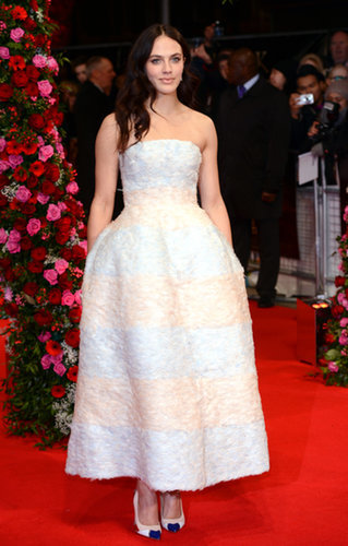 Jessica Brown Findlay at the Winter's Tale Premiere