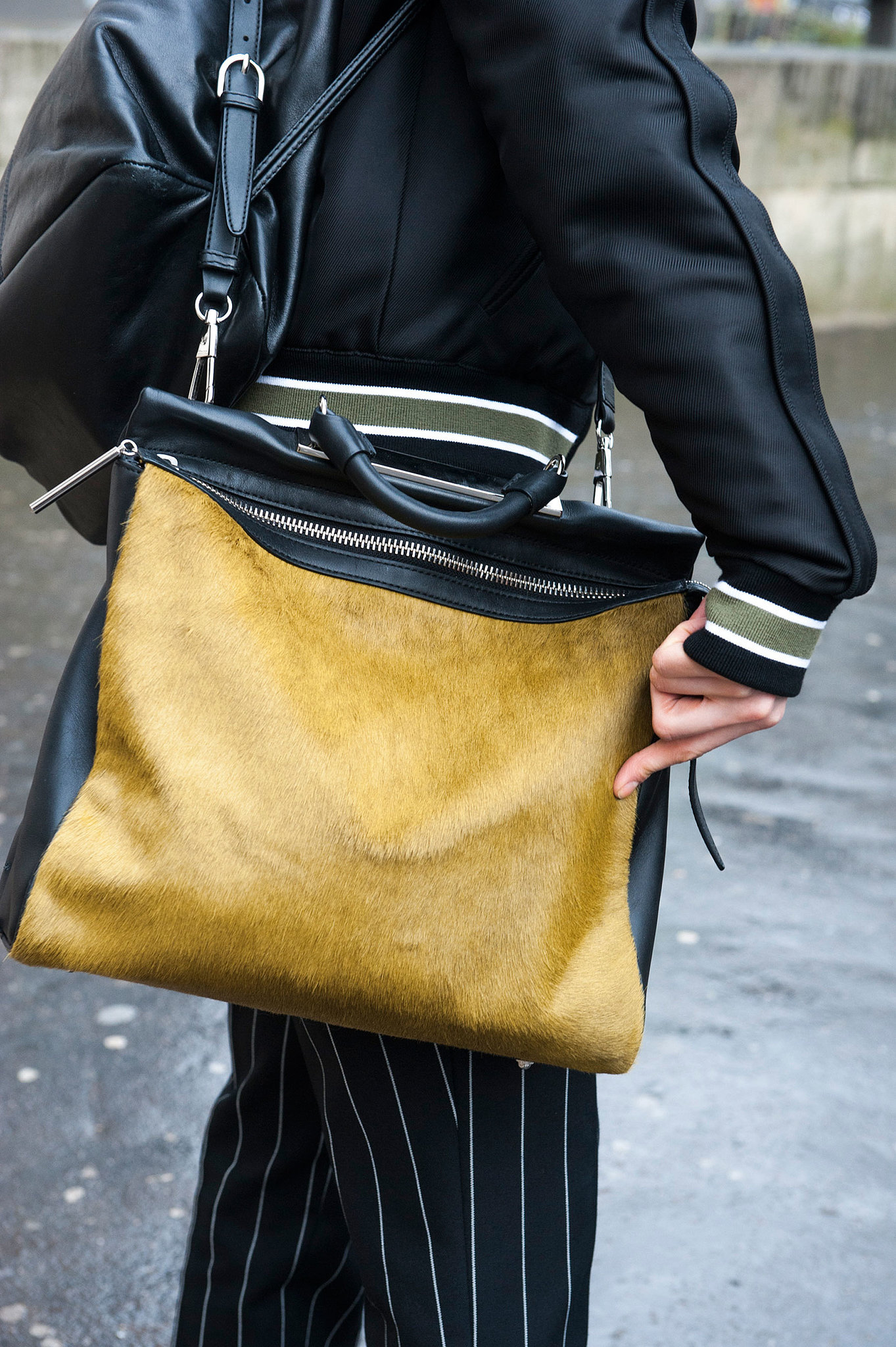 We spy a textured 3.1 Phillip Lim Ryder bag — and we'd like to get our hands on it.