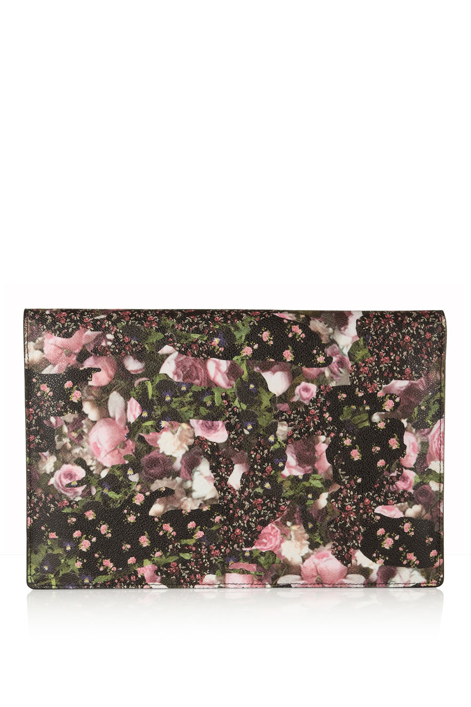 Givenchy iPad Case in Floral-Print Coated Canvas