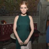 Kate Mara Christian Dior Green Dress Vanity Fair Party