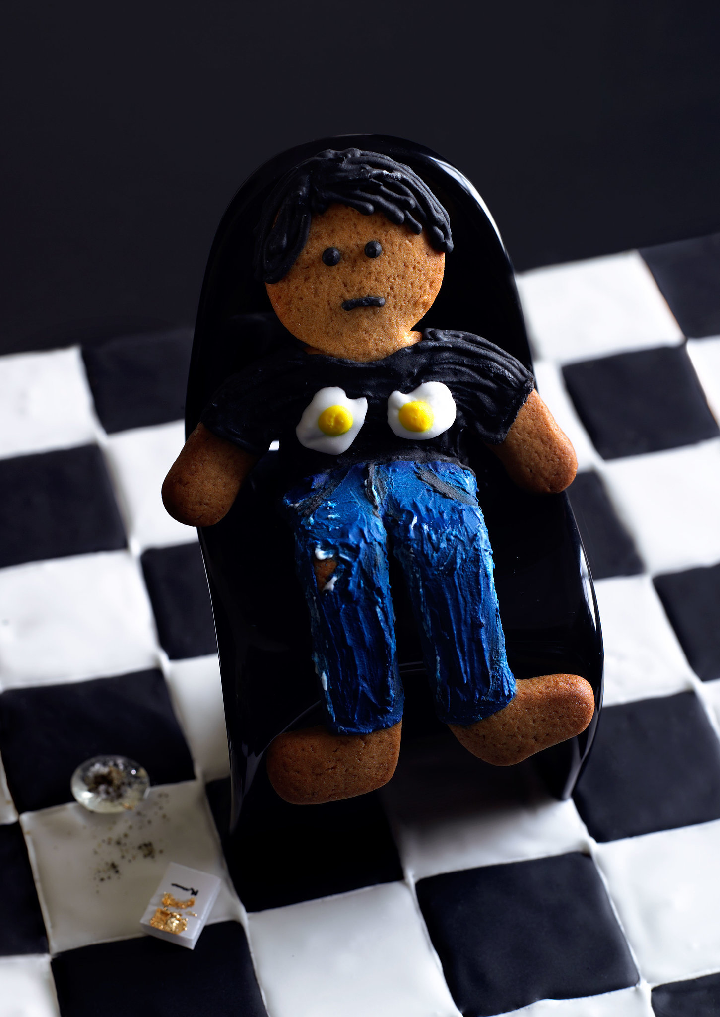 Sarah Lucas-Inspired Gingerbread Woman