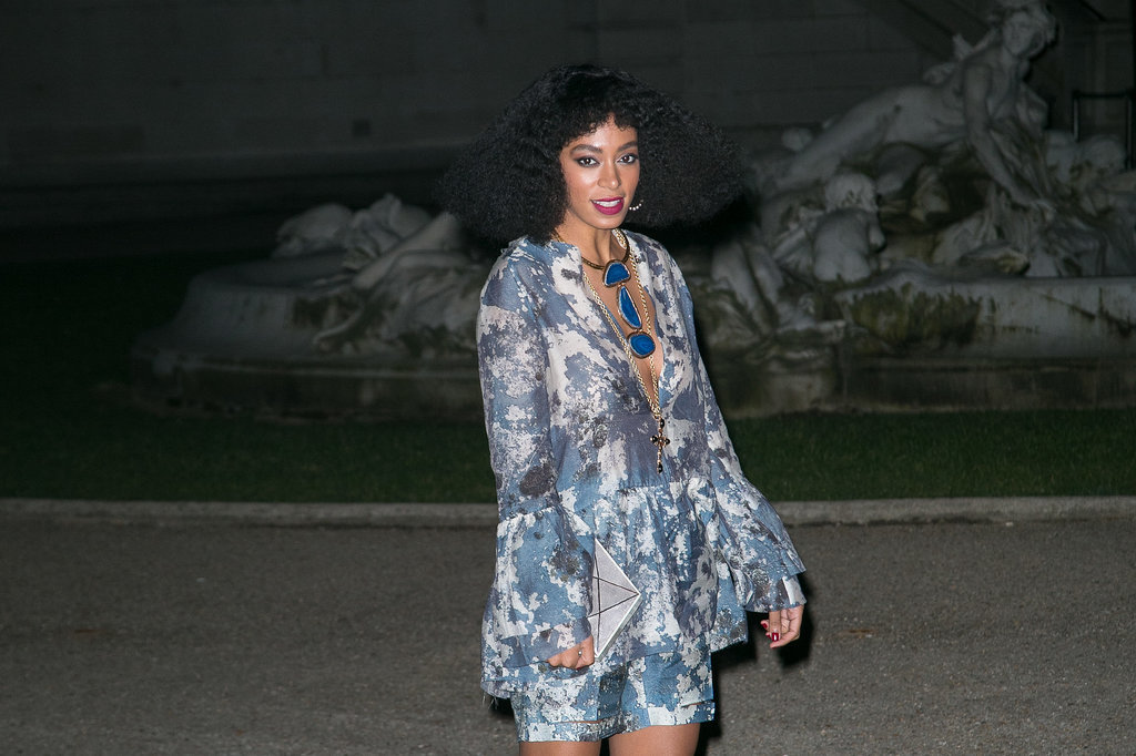 Solange Knowles at H&M Studio