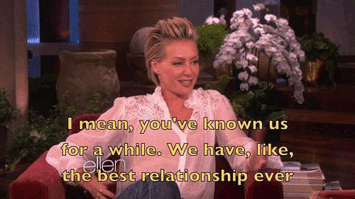 And Portia's the first to say how amazing it is.