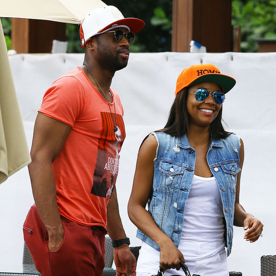 Gabrielle Union and Dwyane Wade Having Lunch in Miami