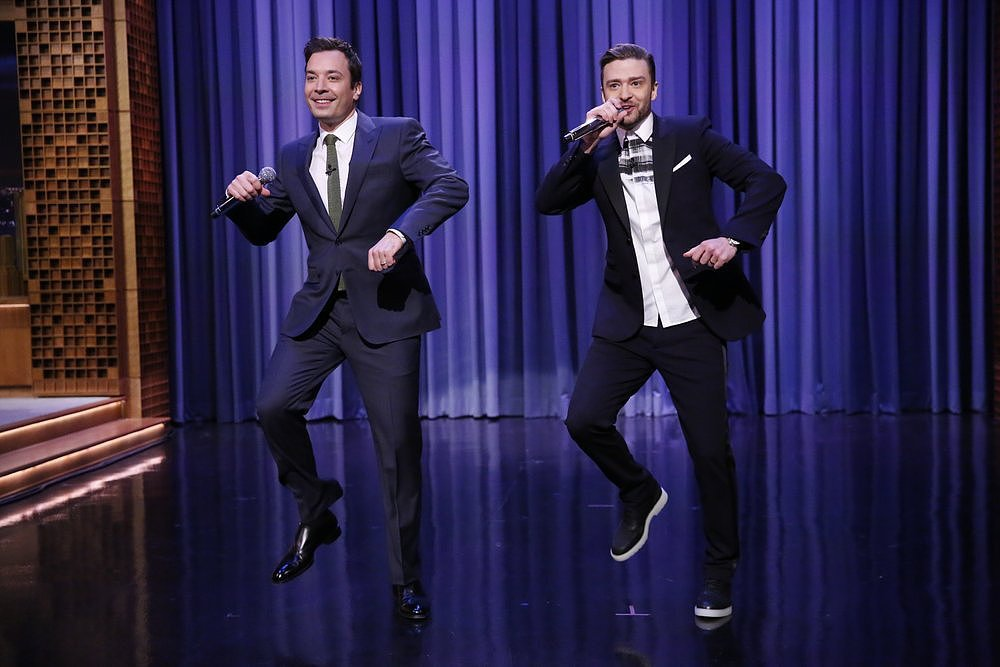 Most Seamless Transition: Jimmy Fallon