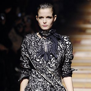 Fall 2014 Paris Fashion Week: Lanvin Runway Hair & Beauty