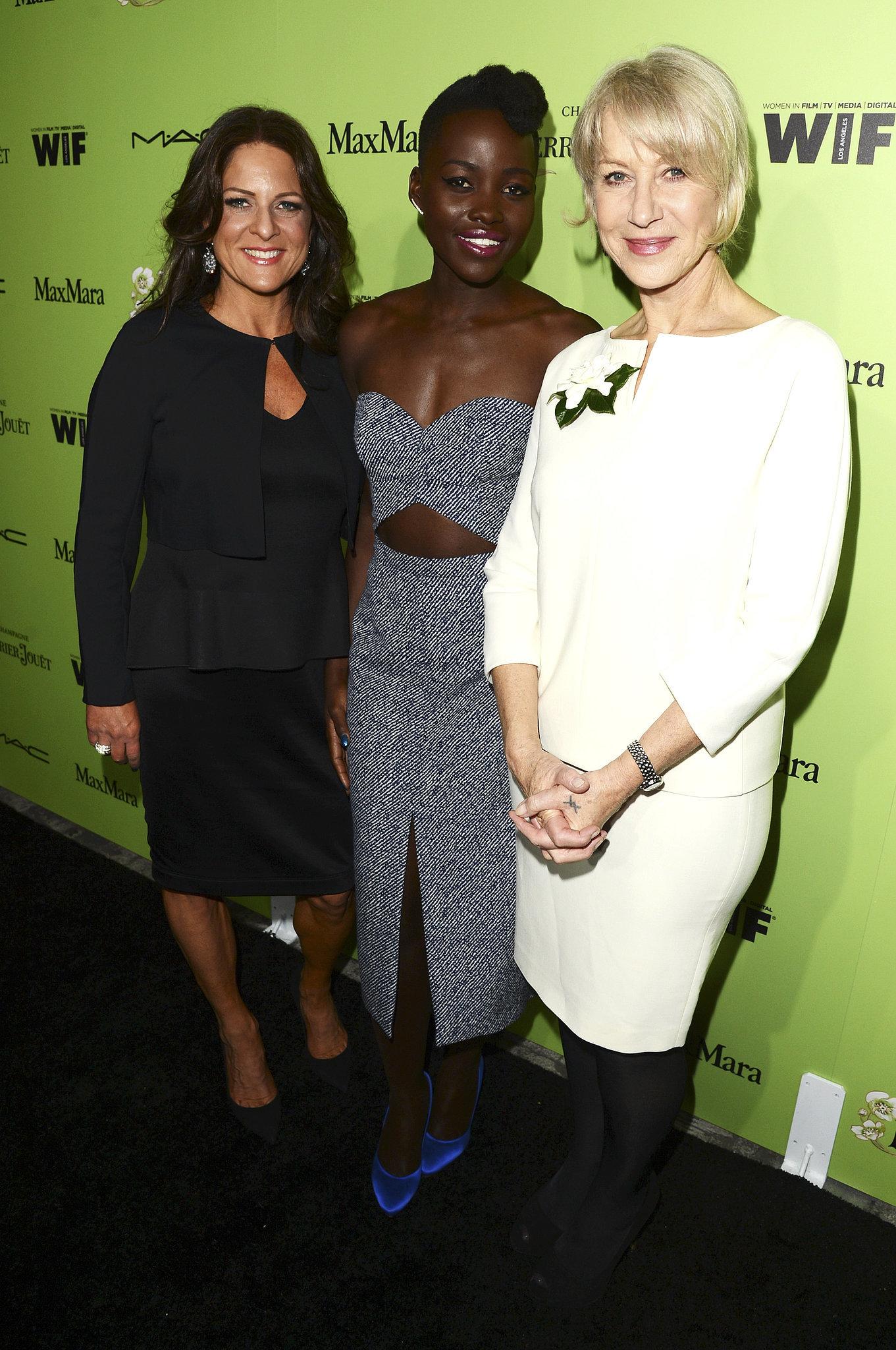 Yes, Lupita Nyong'o Has Successfully Captivated Helen Mirren