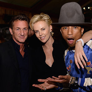 Pre-Oscars Parties: Charlize Theron & Pharrell Williams