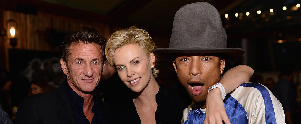 Charlize and Sean Manage to Outshine Pharrell's Hat
