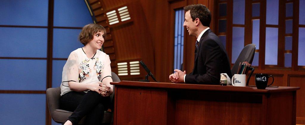 Lena Dunham: I Thought the TSA Was Gonna Amanda Knox Me