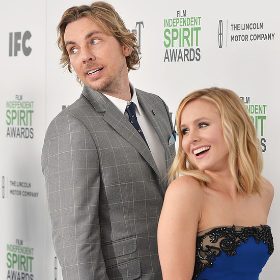 Kristen Bell and Dax Shepard at the Spirit Awards 2014