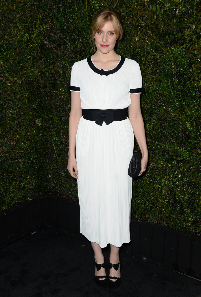 Greta Gerwig was among the stars to attend the annual dinner.