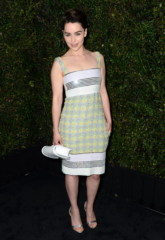 Emilia Clarke was among the guests at the event.