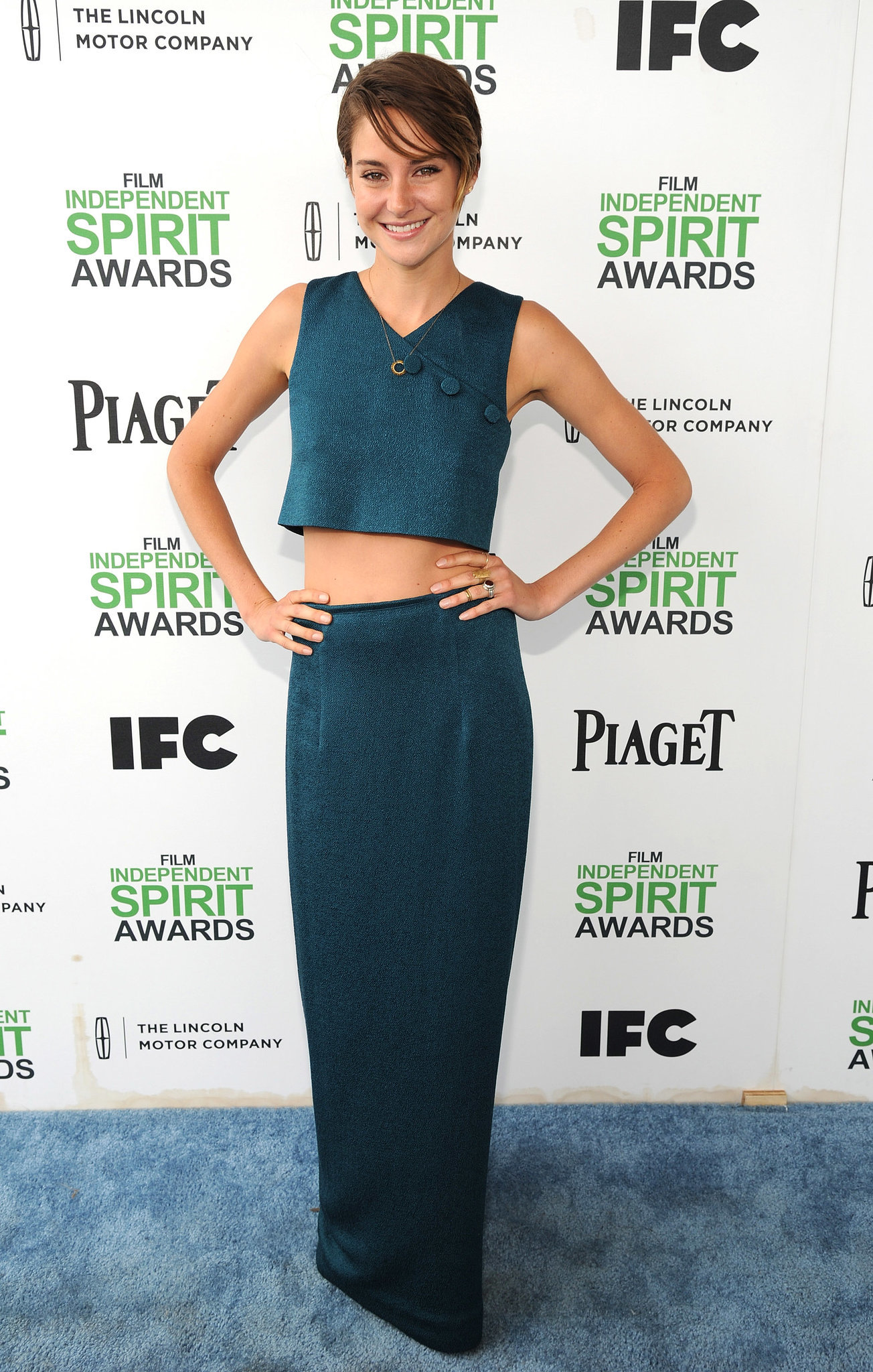 Shailene Woodley at the 2014 Spirit Awards