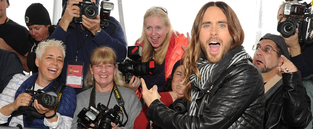 Jared Leto's Red Carpet Moves Are a Thing of Beauty