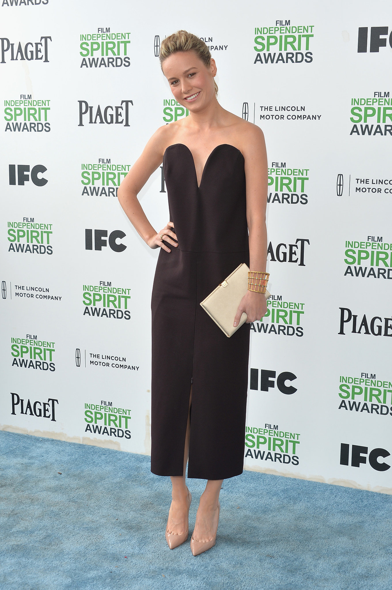 Brie Larson at the 2014 Spirit Awards