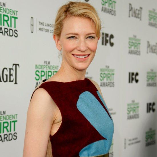 Cate Blanchett Red Carpet At 2014 Independent Spirit Awards