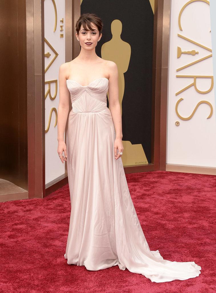 Cristin Milioti at the 2014 Oscars