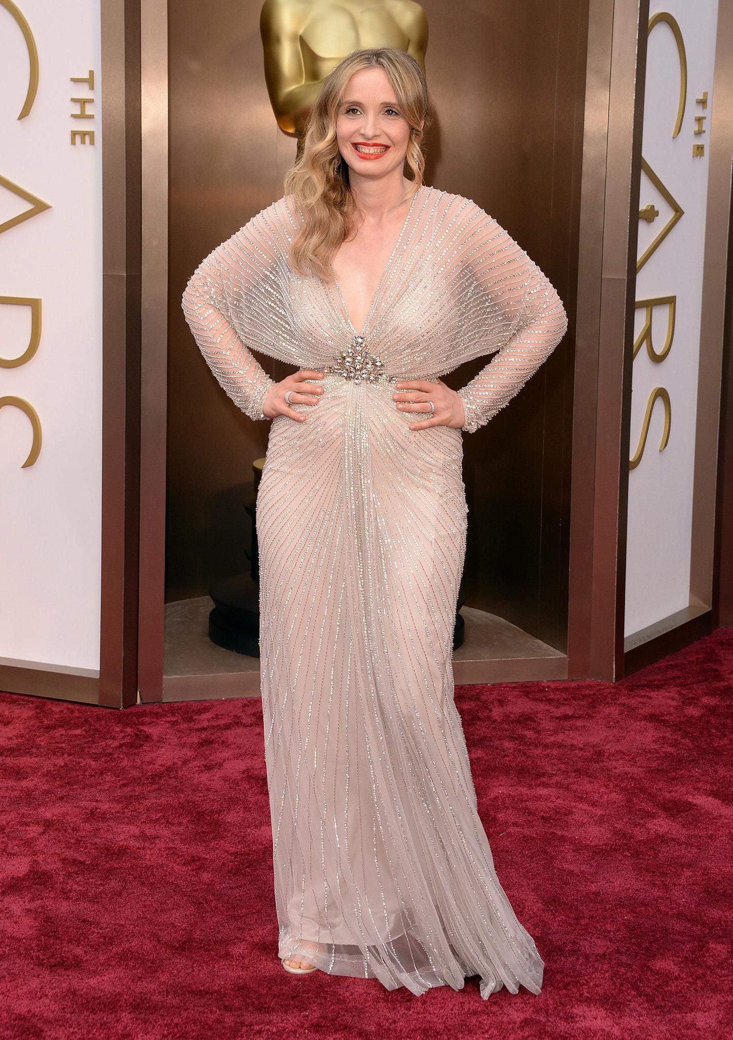Julie Delpy at the 2014 Oscars