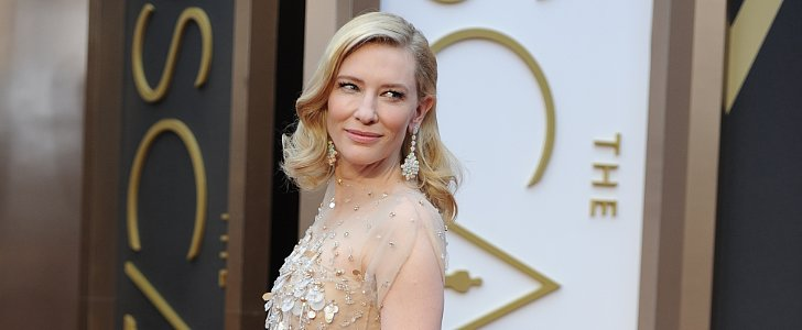 Vote: Cate Blanchett's Soft Waves and Major Eyelashes